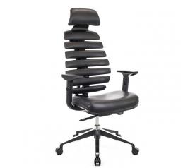 Офисное кресло EVERPROF ERGO Black Экокожа