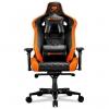 Игровое компьютерное кресло Cougar Armor Titan black/orange # 1