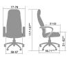 Офисное кресло Metta LK-14 # 1