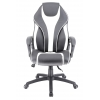 Кресло игровое  Everprof Wing TM Экокожа Белый # 1