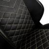Кресло игровое Noblechairs HERO (NBL-HRO-PU-GOL ), Black/Gold # 1