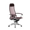 Кресло руководителя МЕТТА Samurai S-1.04 сетка бордовый  # 1