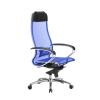 Кресло руководителя МЕТТА Samurai S-1.04 сетка синий # 1