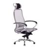 Кресло руководителя МЕТТА Samurai S-2.04 сетка серый # 1