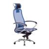 Кресло руководителя МЕТТА Samurai S-2.04 сетка синий # 1