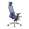 Кресло руководителя МЕТТА Samurai S-3.04 сетка синий # 1