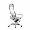 Кресло руководителя МЕТТА Samurai S-1.04 сетка белый лебедь # 1