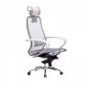 Кресло руководителя МЕТТА Samurai S-2.04 сетка белый лебедь # 1