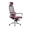 Кресло руководителя МЕТТА Samurai SL-2.04 бордовый # 1
