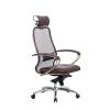Кресло руководителя МЕТТА Samurai SL-2.04 коричневый # 1