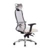 Компьютерное кресло МЕТТА Samurai SL-3.04 белый лебедь # 1