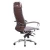 Кресло руководителя МЕТТА Samurai K-1.04 коричневый # 1