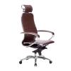 Кресло руководителя МЕТТА Samurai K-2.04 бордовый # 1
