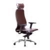 Кресло руководителя МЕТТА Samurai K-3.04 коричневый # 1