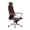 Кресло руководителя МЕТТА Samurai KL-2.04 коричневый # 1