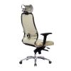 Кресло руководителя МЕТТА Samurai KL-3.04 бежевый # 1