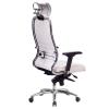 Кресло руководителя МЕТТА Samurai KL-3.04 белый лебедь # 1