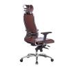 Кресло руководителя МЕТТА Samurai KL-3.04 коричневый # 1