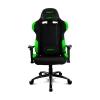 Кресло компьютерное DRIFT DR100 Fabric black/green  # 1