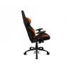 Кресло игровое Drift DR100 Fabric black/orange  # 1