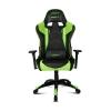 Кресло компьютерное DRIFT DR300 PU Leather black/green # 1