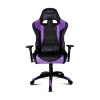 Кресло игровое Drift DR300 PU Leather black/purple # 1