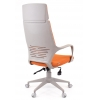 Офисное кресло EVERPROF  Trio Grey TM ткань оранжевый # 1