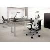 Офисное кресло руководителя Okamura Contessa в коже # 1