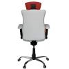 Кресло Kulik System Elegance (бело-красный) # 1