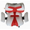 Детское кресло для школьника Kulik System Fly (бело-красный) # 1