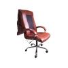 Офисное массажное кресло EGO BOSS EG1001 в комплектации ELITE (натуральная кожа) бордо  # 1