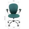 Офисное кресло персонала CHAIRMAN 686 # 1