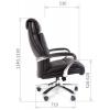 Офисное кресло руководителя CHAIRMAN 401 (XXL) 250 кг. # 1