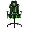 Кресло игровое Aerocool AC120-BG, black/green # 1