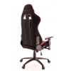 Кресло игровое Everprof Lotus S4 Ткань Черный/Красный # 1