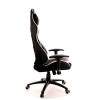 Кресло игровое  Everprof Lotus S6 Экокожа Белый/Черный # 1