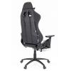 Кресло игровое Lotus Everprof S1 Экокожа Белый/Черный # 1