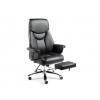 Офисное кресло NORDEN Парламент Кожа черный # 1